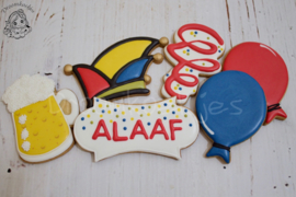 Carnaval steek cookie cutter