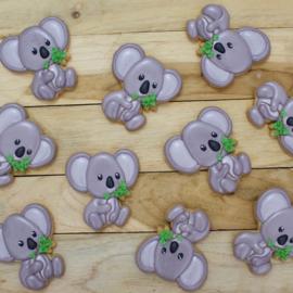 Koala met tak cookie cutter & hulp stencil