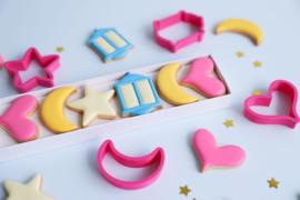KD Collectie RAMADAN cookie cutters incl. 5 bijpassende kaartjes