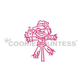 Scarecrow Boy Stencil - Drawn by Krista