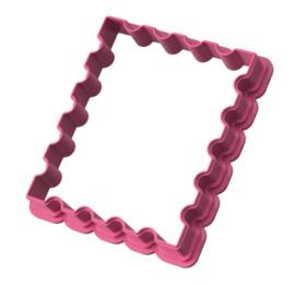 Postzegel cookie cutter