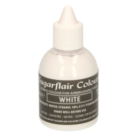 Sugarflair airbrush colouring  white 60 ml