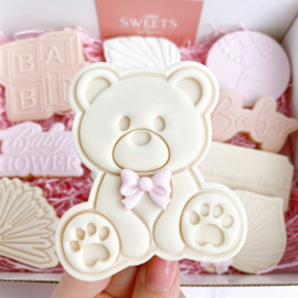 Teddy Beer & cookie cutter - 2 delig