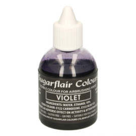Sugarflair airbrush colouring violet 60 ml