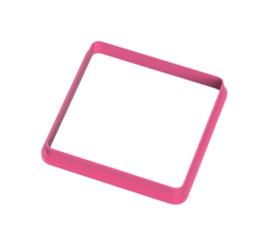 vierkant afgerond 8 cm cookie cutter - koekdesign