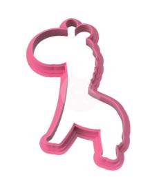 Giraffe # cookie cutter & stencil
