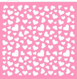 Hearts ## cookie stencil