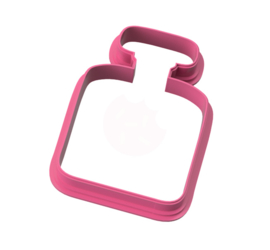 Parfum fles cookie cutter