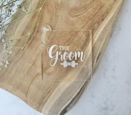 Trouwen - The groom