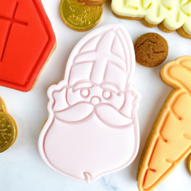 SINT # cookie stempel & cookie cutter - 2 delig