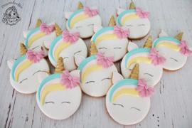 Unicorn donut cookie cutter & hulp stencil