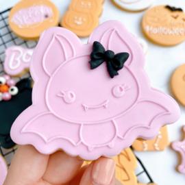 Halloween -Vleermuis outbosse & cookie cutter 2 delig
