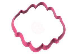 Plaque stylish -A- cookie cutter