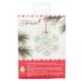 Sweet sugarbelle - ORNAMENT KIT -  SNOWFLAKE (4 PIECE)
