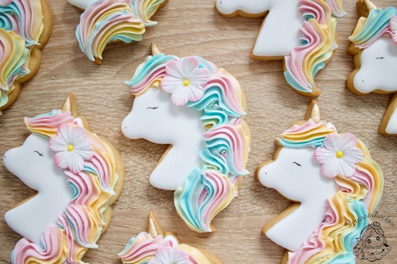 Unicorn Kaley cookie cutter & hulp stencil