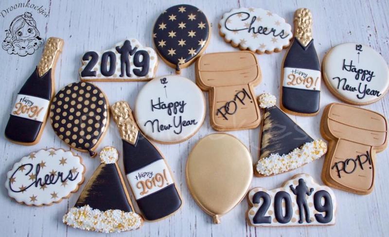 Feest hoed cookie cutter