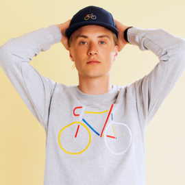 NEW - Sweatshirt Malmoe Color Bike