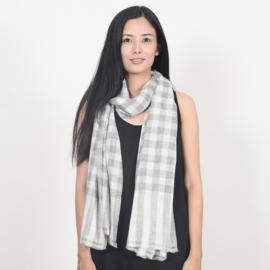 Purna geruite sjaal
