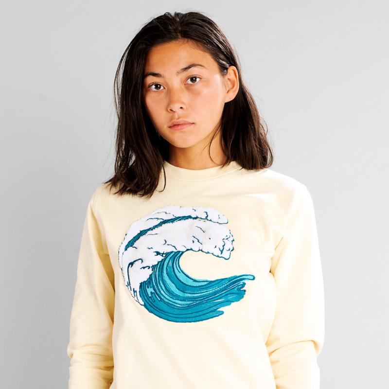Sweatshirt Ystad Wave