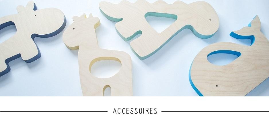 Houten accessoires baby & kinderkamer