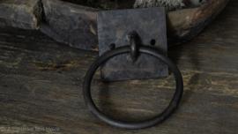 Oude IJzeren Handdoekring/Metalen ring