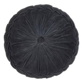 Kussen Kanan Velvet kussen Black 40cm