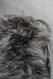 IJslandse schapenvacht steengrijs
