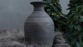 Handgemaakte Pot van klei uit Nepal