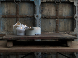 Oud houten Bajot tafel
