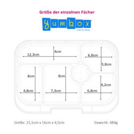 Yumbox Original - Luna Blue