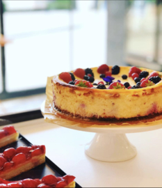 Baked cheesecake 10p