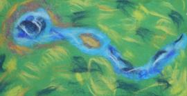 Speelkleed Waterbron (groot)