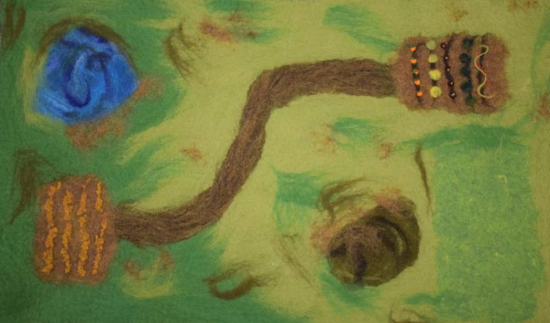 Speelkleed Boerderij (groot)