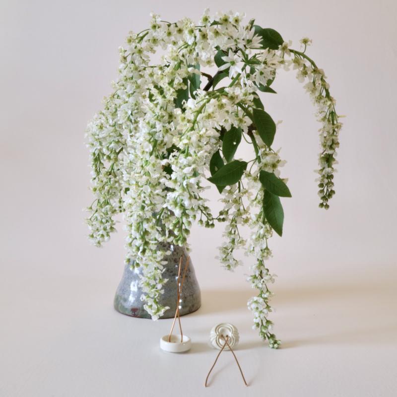 Plantknoopjes | 12 stuks | VintageMix | Wit