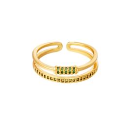 Ring Bling Green