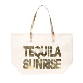 Strandtas Tequila Sunrise Gold