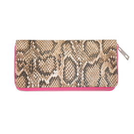 Portemonnee Snake-A-Licious Pink