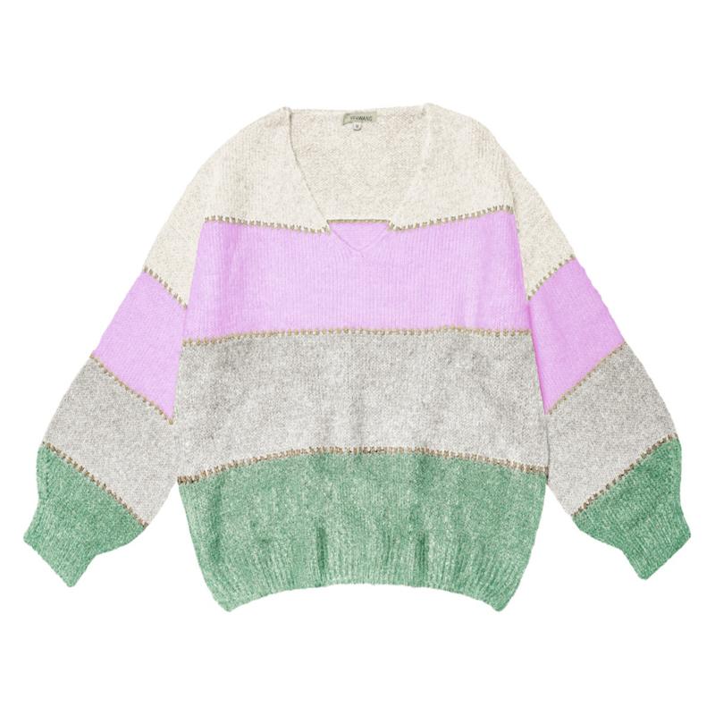 Sweater Winter Stripes II