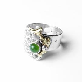 Ring met jade