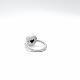Zilveren ring met turquoise