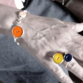 Zilveren ring en armband