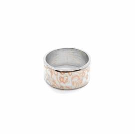 Ring met mokumé gané