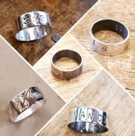 Workshop zilveren ring maken 8 februari