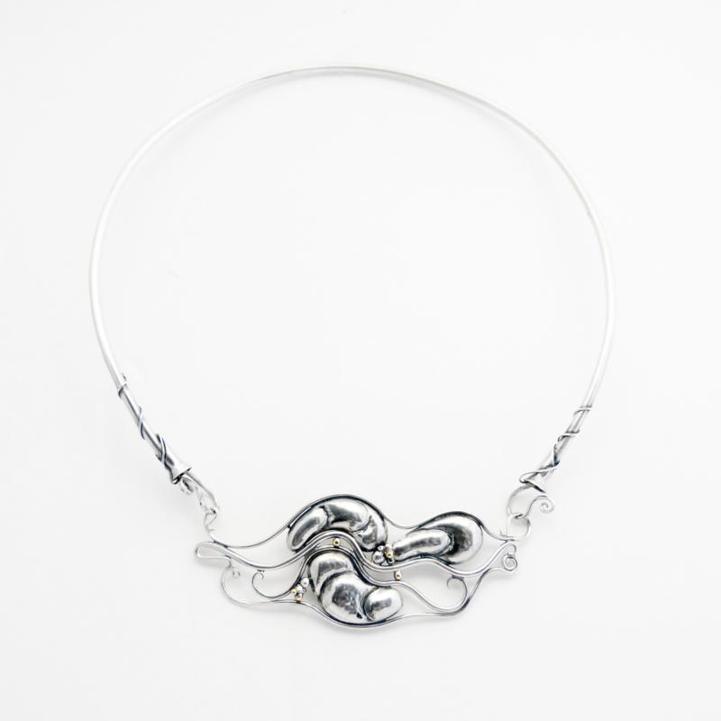 Zilveren halssieraad