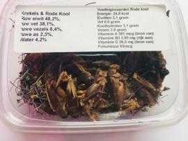 Rode-kool krekel-mix