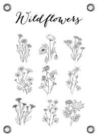 TUINPOSTER - WILDFLOWER