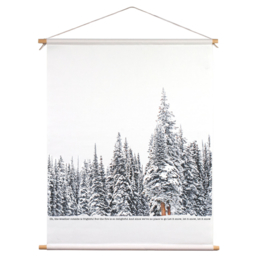 Textielposter - Winter wonderland