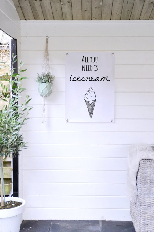 TUINPOSTER - ICECREAM