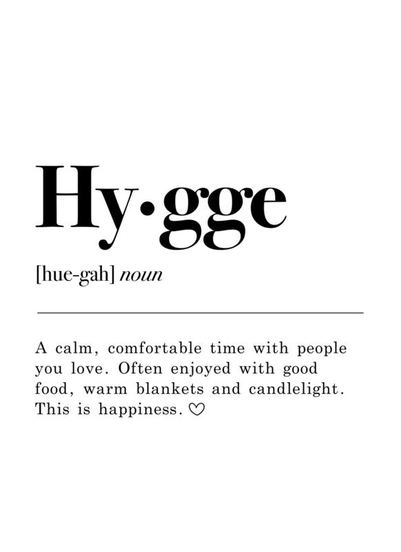 TUINPOSTER - HYGGE