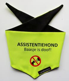 Assistentiehond Hulphond knoop bandana